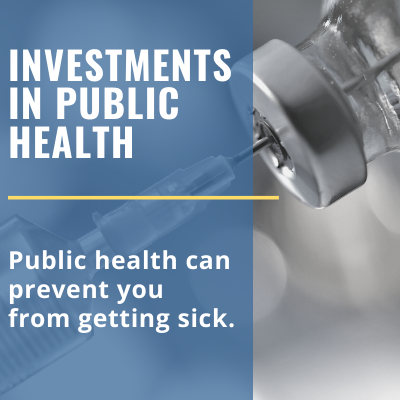 federal public health investments could prevent sickness